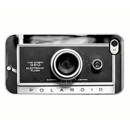 3. Vintage Polaroid Camera iPhone Case
