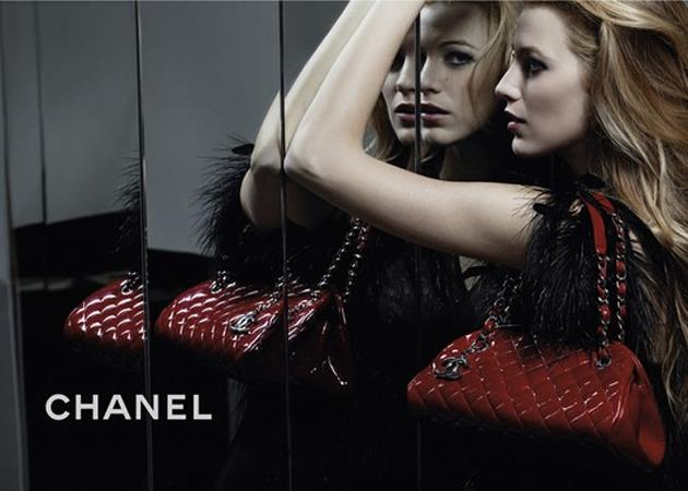 Celebrity advertising campaigns: Blake Lively gave good er, 'shoulder' to promote Chanel's Mademoiselle handbag, but it's her face that does the talking… how hot does she look?