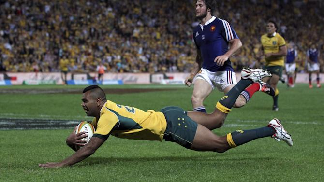 Rugby - Australia move Beale to fly-half, bring in Charles
