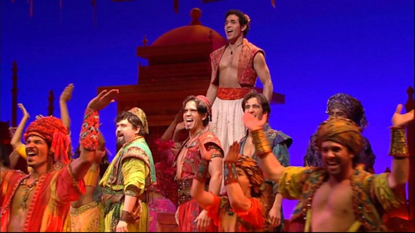 Good Morning America Live Tickets : The cast of aladdin performs arabian nights live