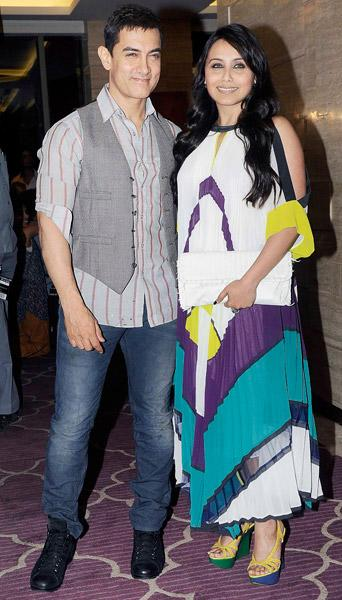Spotted: Aamir, Rani and Bebo party hard