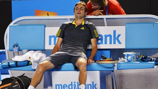 Australian Open - Murray's next opponent 'wrecked'