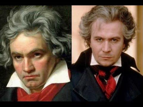 五、蓋瑞歐德曼(右)飾演貝多芬(左):實力派男星蓋瑞歐德曼不僅能演邱吉爾,更能化身為古典音樂大師貝多芬。蓋瑞歐德曼在1994年電影《永遠的愛人》中飾演天才音樂家貝多芬,描述在貝多芬辭世多年之後,才發現了一封沒有收件人、也沒有日期的信件。透過劇情的抽絲剝繭,從中推砌出貝多芬在音樂創作以外的內心故事。蓋瑞歐德曼在片中神還原貝多芬,再次展現了他變色龍般的百變功力。(圖:YouTube)