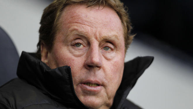 Tottenham Hotspur's English Manager Harry Redknapp Looks On   RESTRICTED TO EDITORIAL USE. No Use With Unauthorized AFP/Getty Images