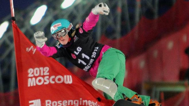 Julie Zogg Of Switzerland Competes AFP/Getty Images