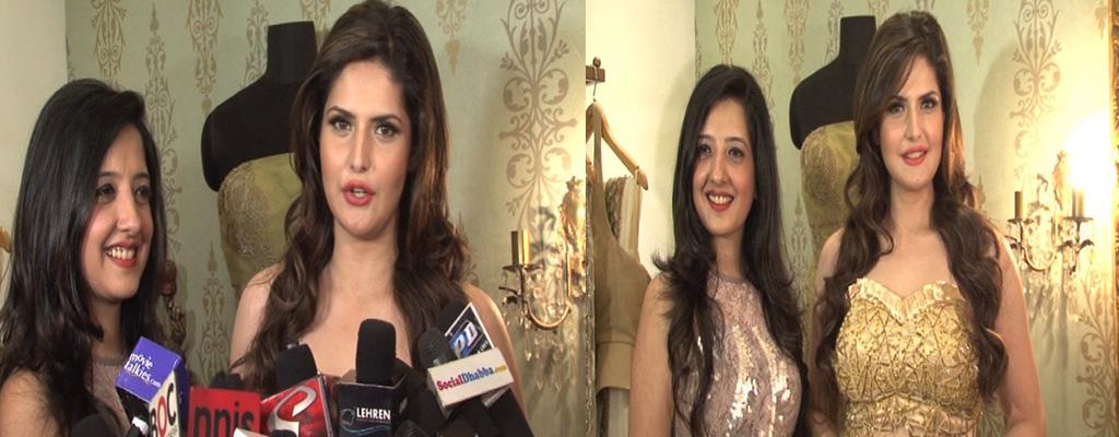 Zarine Khan Launches Eco Friendly Clothes With Amy Billimoria | Watch ...