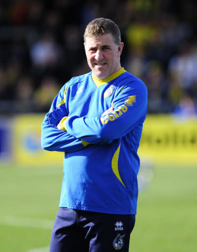 Mark McGhee, pictured, said the club will continue to keep an eye on Baldvinsson
