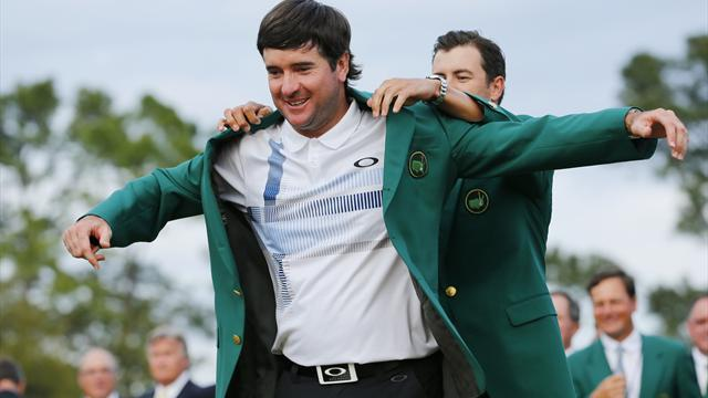 Masters Tournament - Bubba Watson overpowers Augusta to win Masters