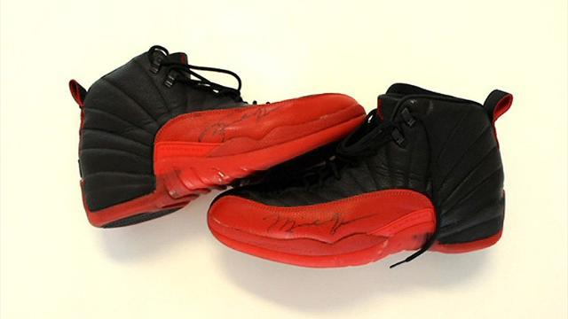 NBA - Michael Jordan's 'Flu Game' trainers expected to fetch £50k at auction