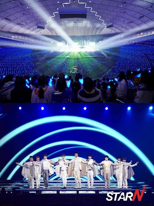 110 thousand fans gathered for Super Junior's concerts in Tokyo