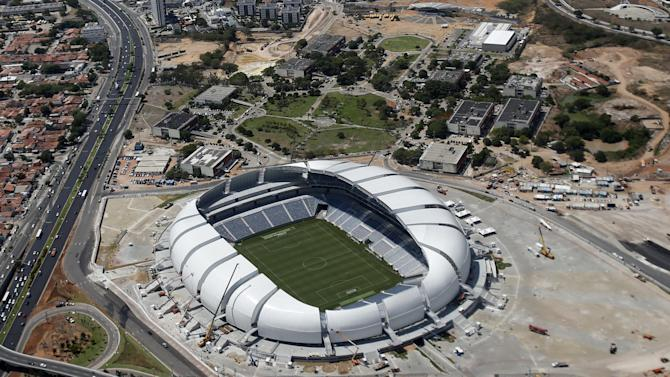 World Cup - Brazil World Cup grounds up for sale following cash flow problems