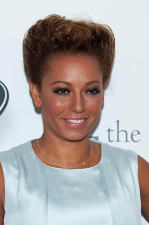 Melanie Brown attends the Noble Gift Gala at The Dorchester on December 8, 2012 in London -- Getty Premium