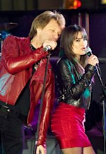 Jon Bon Jovi and Lea Michele | Photo Credits: Andrew Schwartz/Warner Bros. Pictures