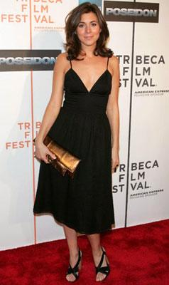 Jamie-Lynn Sigler at the Tribeca Film Festival premiere of Warner Bros. Pictures' Poseidon New York, NY