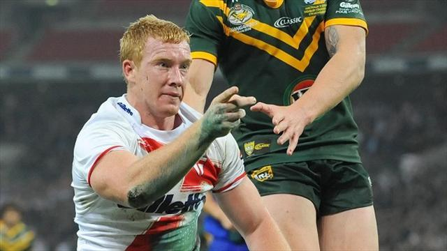 Rugby League - England centre Reed out for six weeks