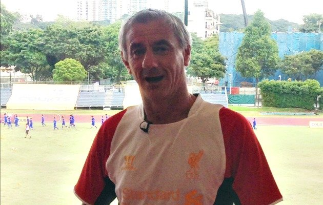 Liverpool legend Ian Rush speaks to Yahoo! Singapore. (Daniel Teo/Yahoo! photo)