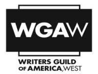 WGA West Re-Ups Executive Director