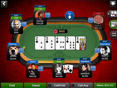 play texas holdem yahoo