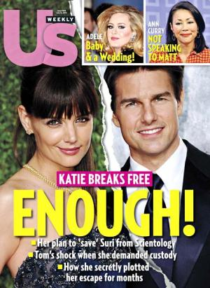 """Katie Holmes """"Felt Like She Was in Rosemary's Baby"""" With Tom Cruise Marriage"""