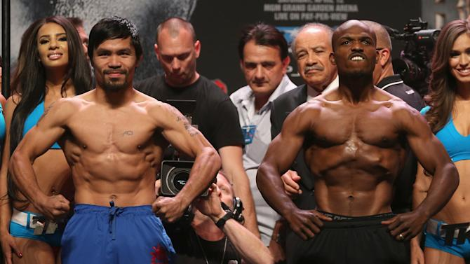 Manny Pacquiao v Timothy Bradley - Weigh-In