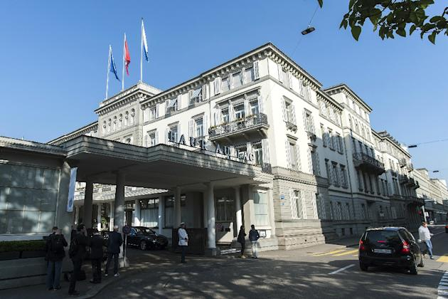 Swiss police detained several FIFA honchos in a dawn raid at a luxury Zurich hotel as part of a twin corruption inquiry