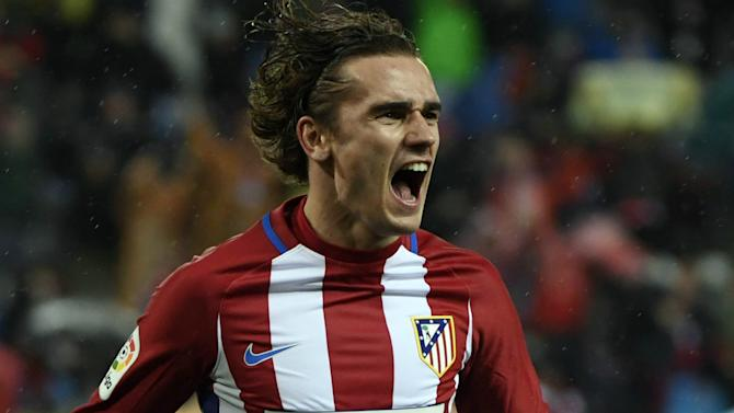 Antoine Griezmann becomes Atletico Madrid's all-time leading scorer in Europe