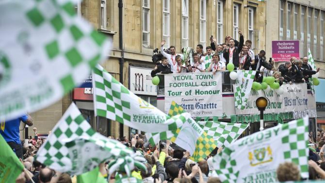 Soccer - Yeovil Town parade - Yeovil