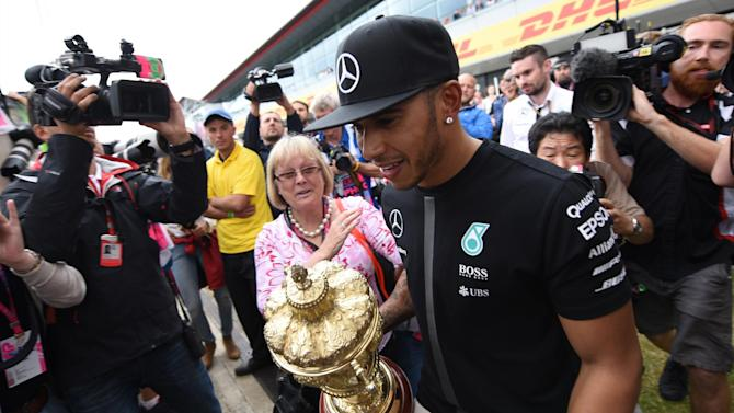 Formula 1 - 3 things we learned from Silverstone: Hamilton hits all-time high