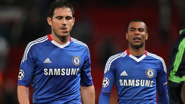 Premier League - Chelsea yet to decide on Lampard, Cole futures