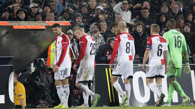 Europa League - Feyenoord boss Fred Rutten: 'Fans harm the club' after more controversy