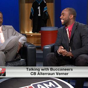 Tampa Bay Buccaneers cornerback Alterraun Verner: We can go in a lot of directions with the top pick