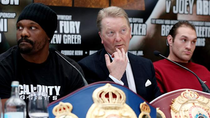 Boxing - Fury's grudge match with Chisora set for November