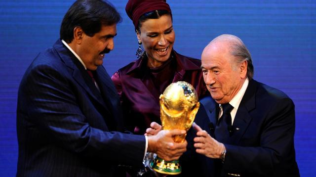 World Cup - Blatter admits giving Qatar World Cup was 'a mistake'