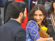 SPOTTED: Sonam Kapoor shooting with Fawad Khan on the sets of KHOOBSURAT