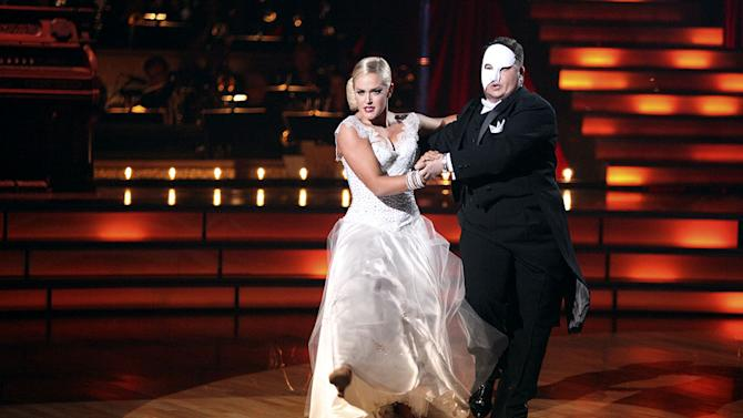 """Lacey Schwimmer and Chaz Bono perform on """"Dancing With the Stars."""