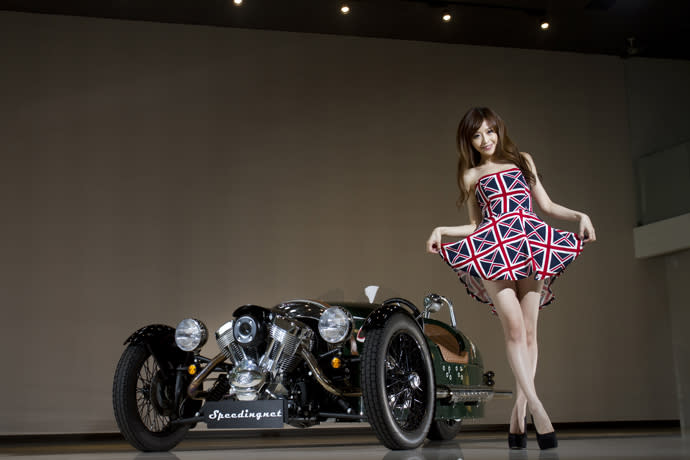 Lucy愛車—Morgan 3 wheeler