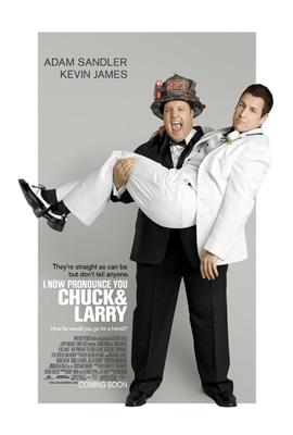 Kevin James and Adam Sandler star in Universal Pictures' I Now Pronounce You Chuck & Larry