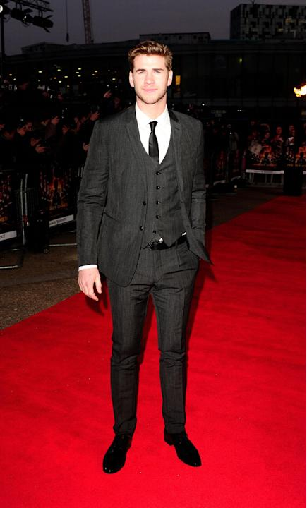 Hunger Games UK premiere photos: Liam Hemsworth