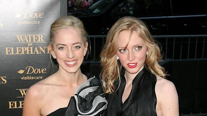 Lizzy Pattinson and Victoria Pattinson