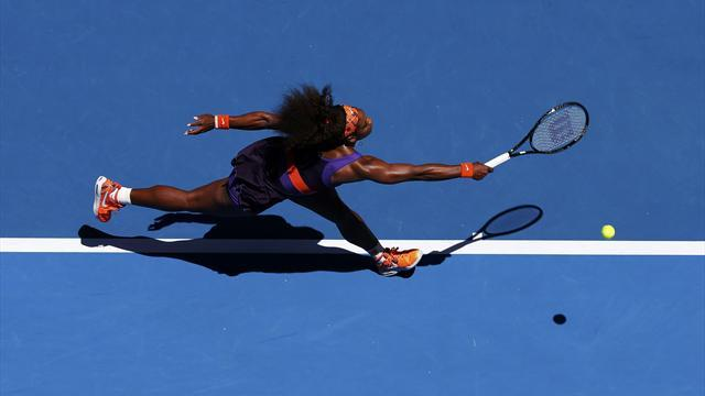 Tennis - Serena faces next generation, Murray takes on Chardy