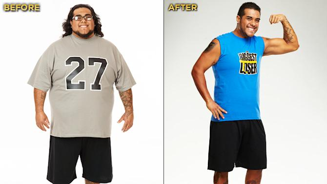 """Ramon Medeiros, a 27-year-old tattoo artist, placed third on Season 12 of """"Biggest Loser."""" He started the competition at 355 lbs. and lost a total of 154 lbs."""