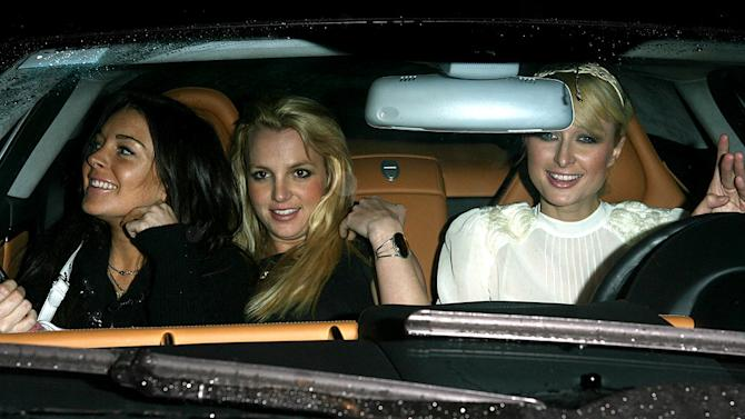 Lohan Spears Hilton Hollywood