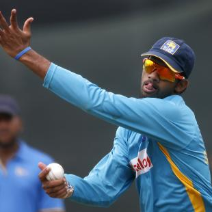 Senanayake banned from bowling