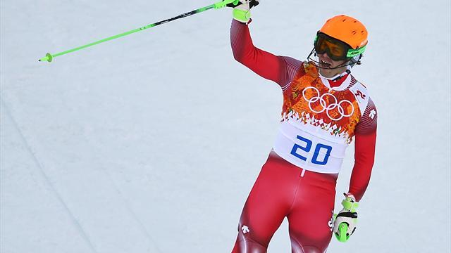 Alpine Skiing - Shock gold for Viletta in Sochi super combined