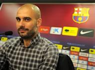 Pep Guardiola, pictured in January 2012, brings the curtain down on his Barcelona reign on Friday, admitting that he is still bitter over his failure to take the Spanish giants to the Champions League final