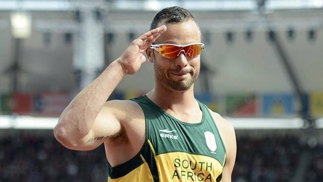 Olympic Games - Pistorius backs London bid for Paralympic champs