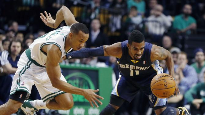 Bayless' 22 lead Grizzlies over Celtics 100-93