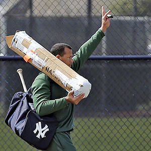Alex Rodriguez Reports to Yankees Early