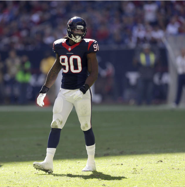 Texans' Clowney won't be ready for start of training camp