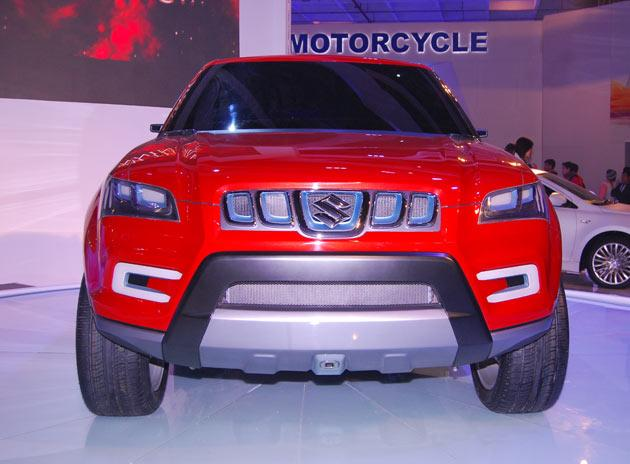 maruti suzuki launches concept suv xa alpha at auto expo html autos weblog. Black Bedroom Furniture Sets. Home Design Ideas